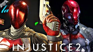 Injustice 2 Online - ARKHAM KNIGHT RED HOOD GOING IN!