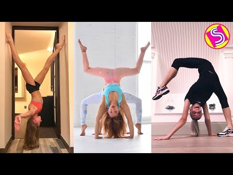 Gymnastics VS Cheerleading And Contortion TikTok Compilation 2019 - Best Gymnastics Skills