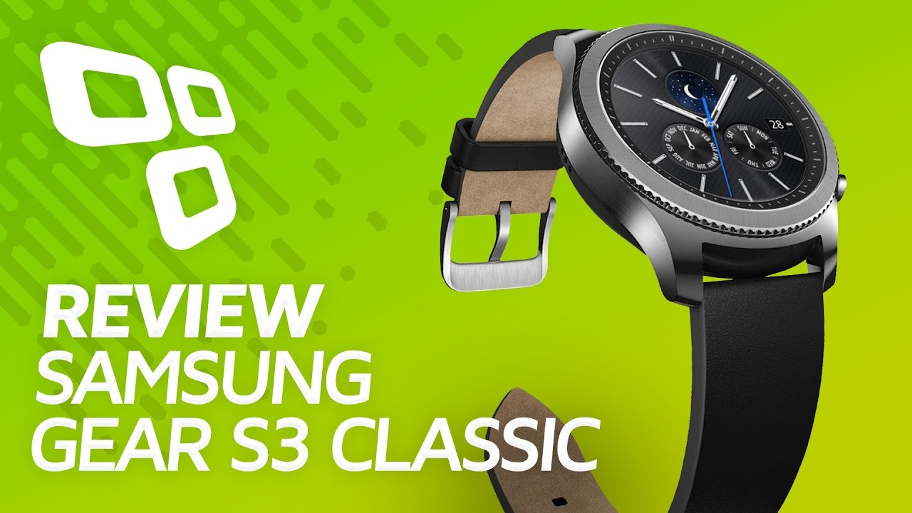 c88421f3512 Samsung Gear S3 Classic - Review - TecMundo - YouTube