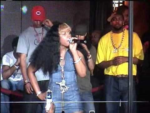 Remy Ma  Rapping live at Club Love in Washington, DC