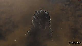 Godzilla PS3- New Game Intro Showing Godzilla