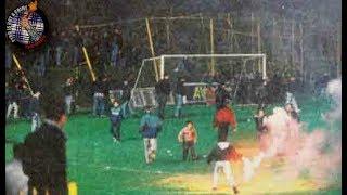 Aris - PAOK 1994  Riots  // Pyro-Greece