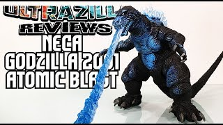 NECA GODZILLA 2001 ATOMIC BLAST REVIEW!