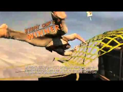 Uncharted 3 Drake's Deception SUBWAY Taste for Adventure TV Spot3692