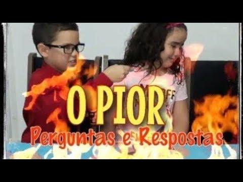 O PIOR PERGUNTAS E RESPOSTAS