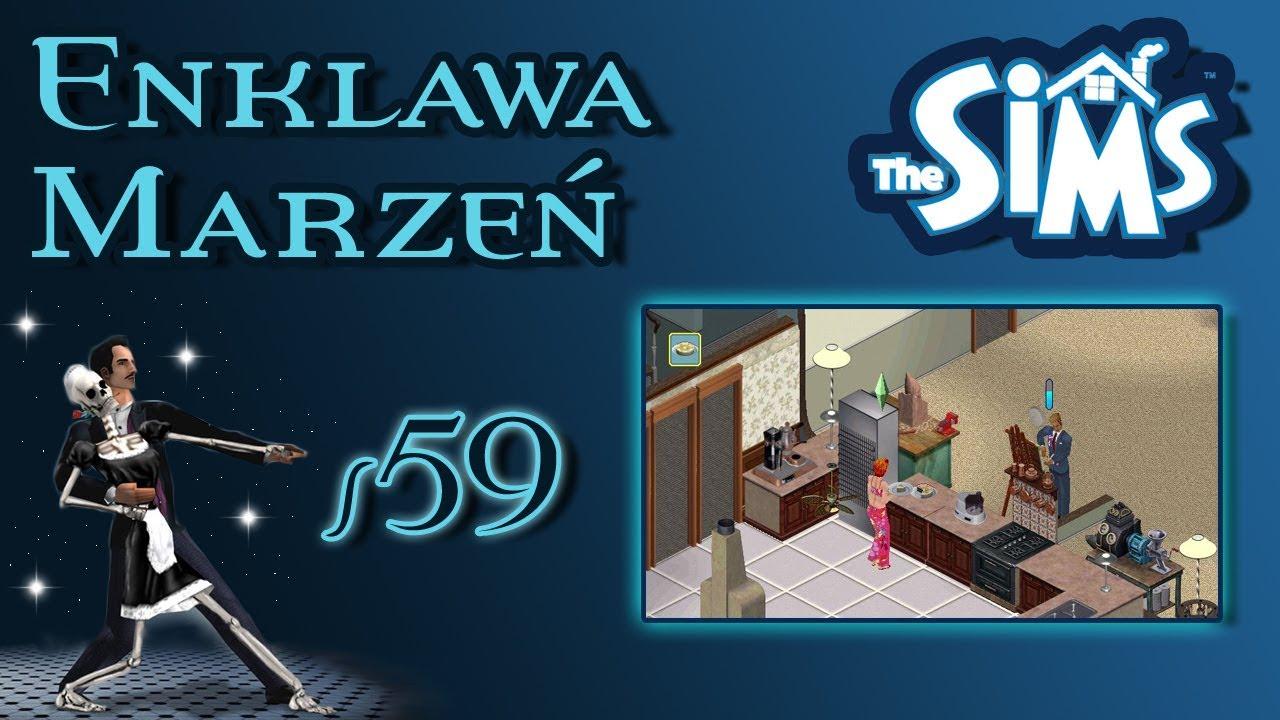 """Enklawa Marzeń odc. 59 – The Sims 1 – """"Przyjaciele i ciasto"""""""