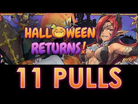 Puzzle & Dragons - Halloween REM Returns! - 11 PULLS!