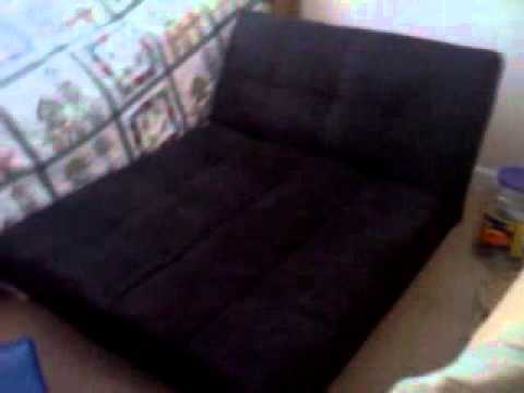 Superior Your Zone Mini Futon Review   YouTube