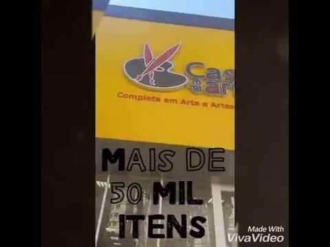 28eb70cb419 Conheça a nossa loja Casa da Arte! - YouTube