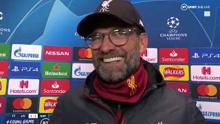 Jurgen Klopp reacts to Liverpool's 1-1 draw against Napoli | Post-match reaction