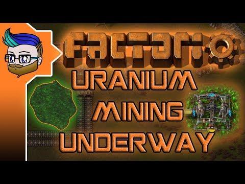URANIUM MINING UNDERWAY | Factorio 0.16 #89