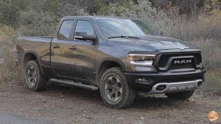 2019 RAM Rebel 5.7 V8 HEMI First Drive Video Review