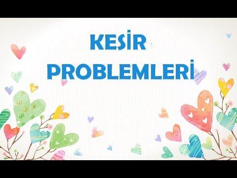 KESİR PROBLEMLERİ- 5.SINIF MATEMATİK