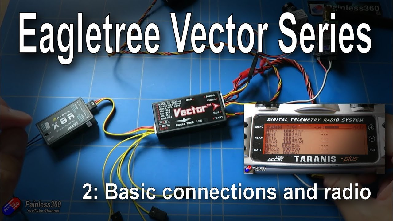 2/5) EagleTree Vector Series: Basic Connections and Radio Setup - YouTubeYouTube