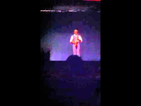 2013 creekside talent show - Isaac williams