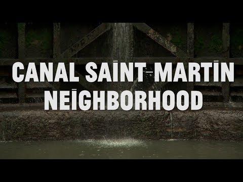 PARIS: The Canal Saint Martin Neighborhood & Le Verre Volé