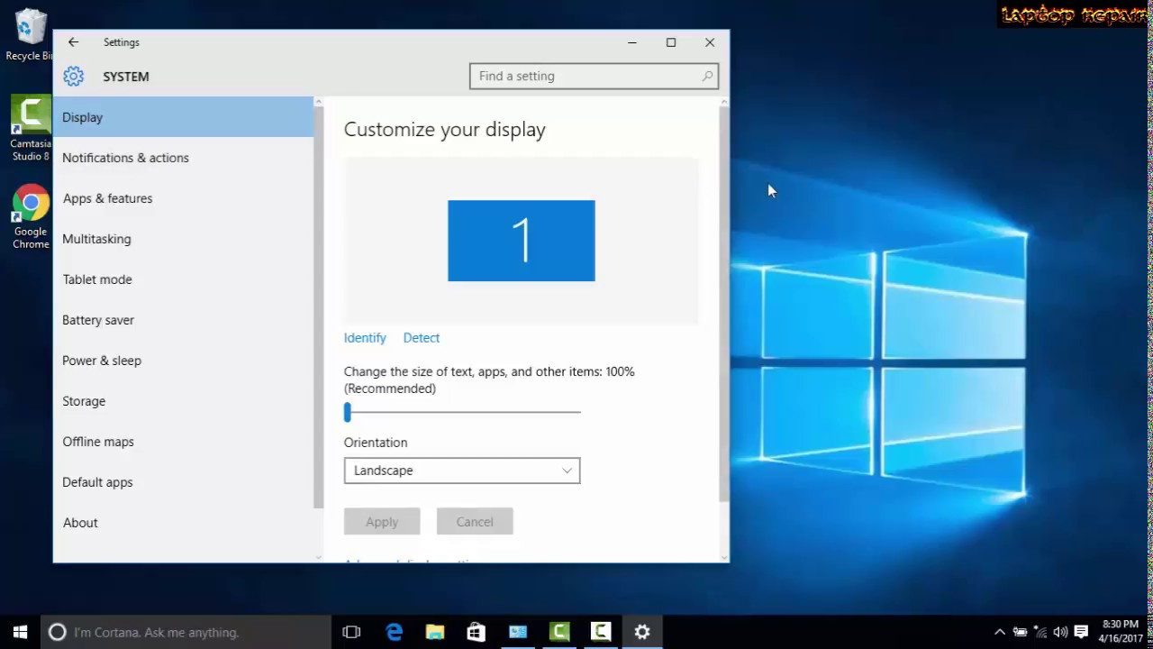 How to Change Screen Resolution of Displays in Windows 10
