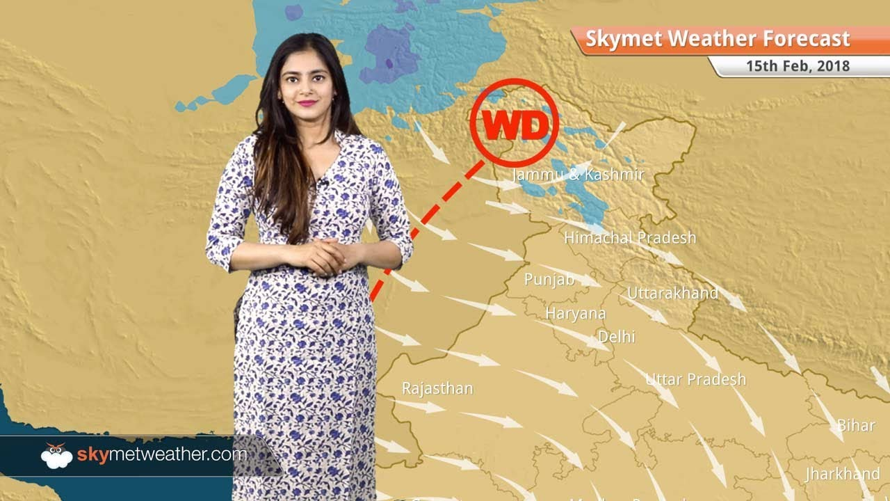 Weather Forecast for Feb 15: Rain and snow over Jammu and Kashmir