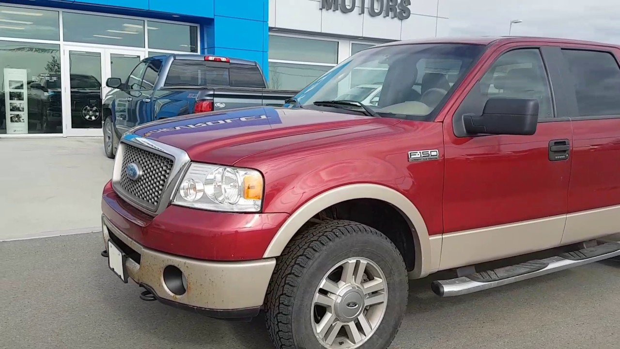 2007 ford f 150 lariat 4x4 supercrew 181367