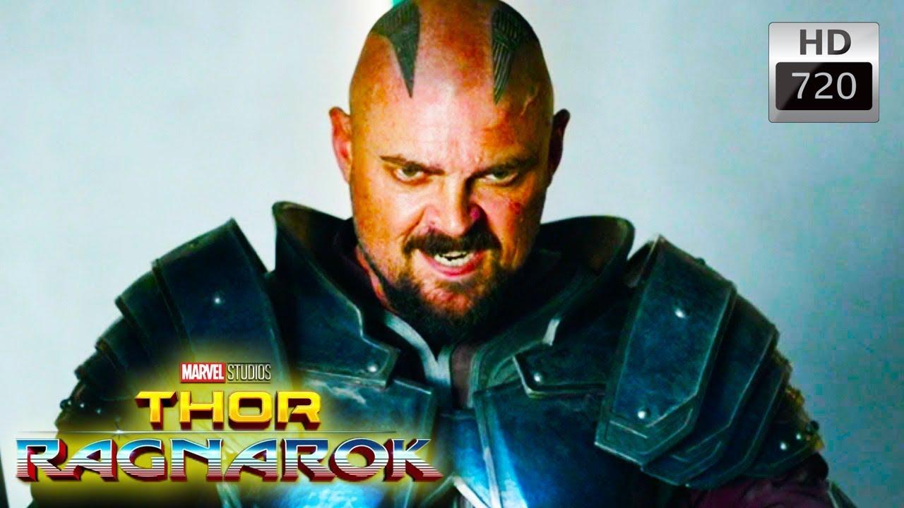 Thor Ragnarok - Skurge Shake weight Scene Explained *SPOILERS*