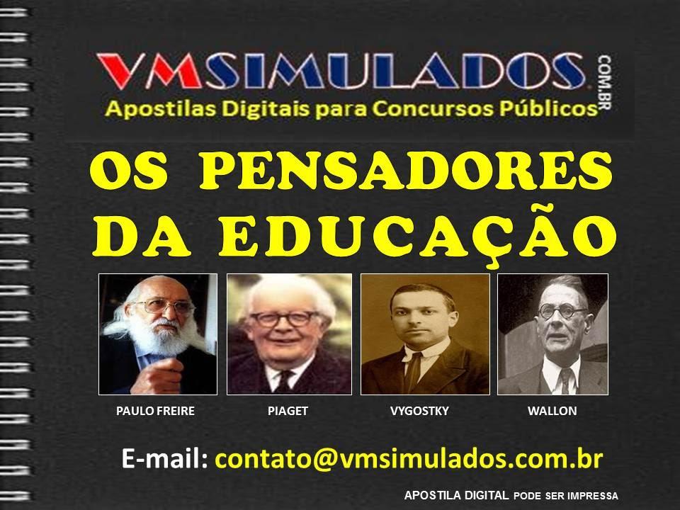 Os Pensadores Da Educação Paulo Freire Piaget Vygostky E Wallon