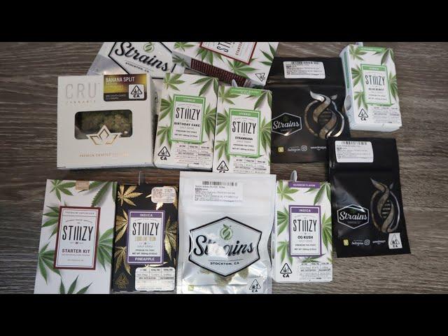 Dispensary Pickup + Stiiizy Flavor Reviews