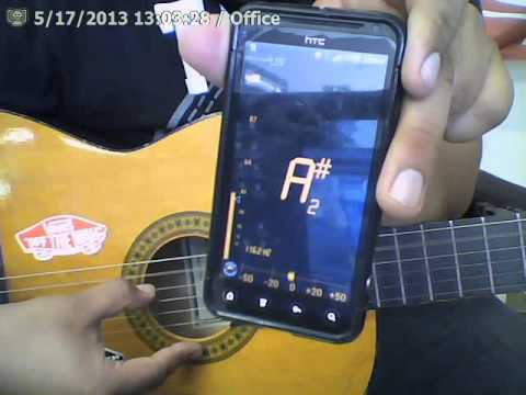how to tune a guitar da tuner lite app youtube. Black Bedroom Furniture Sets. Home Design Ideas