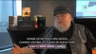 George R R  Martin entrevista por Adela Micha