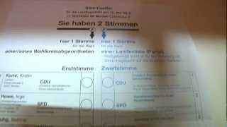 Landtagswahl 2012 - Rund 600 Wahlhelfer im Einsatz