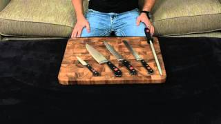 Wusthof Classic 5 Piece Chef Knife Set — Review and Information.