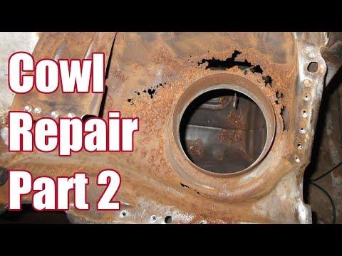 Cowl Repair - Part 2 - Lower Cowl 1967 Fairlane - 021