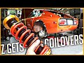 280Z Gets Modern COILOVERS! - Datsun 280Z Build Series #23