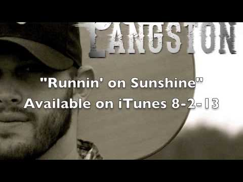 Jon Langston - Runnin' On Sunshine Feat. Jordan Rager (Official Audio)