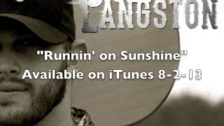 Jon Langston Runnin 39 On Sunshine Feat. Jordan Rager Audio.mp3