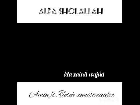Lirik sholawat Alfa Sholallah