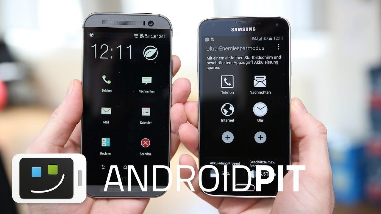 HTC One M8 vs Galaxy S5 | Comparación de modos de ahorro ...Htc One Max Vs Galaxy S5