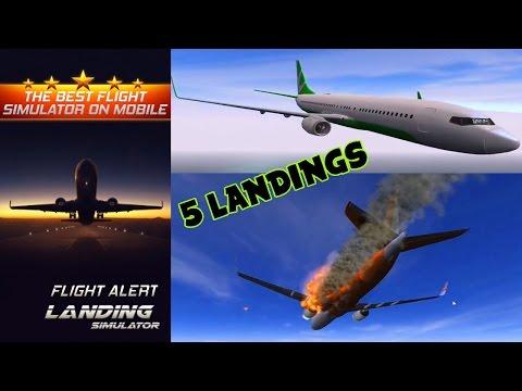 Flight Alert : Impossible Landings Flight Simulator Gameplay iOS ANDROID HD