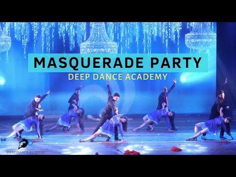 MASQUERADE PARTY   SALSA BACHATA   DEEP DANCE ACADEMY