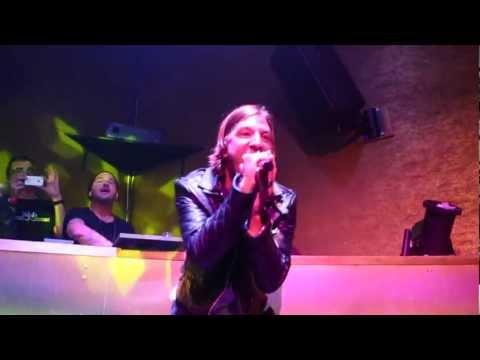 John Martin Live Performing