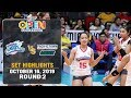 Creamline vs. Pacific Town-Army | Set 3 Highlights - October 16, 2019 | #PVL2019