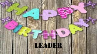 Leader   Wishes & Mensajes