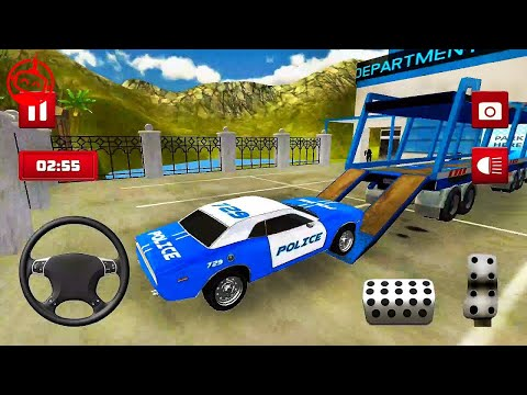 Transport Truck Police Cars: Transport Games | #yz Android GamePlay [FHD]