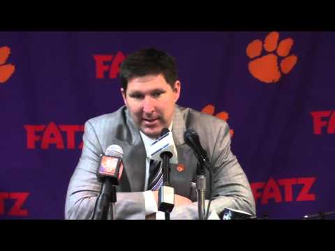 TigerNet.com - Brad Brownell post Boston College