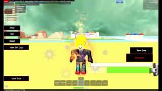 Roblox Dragon Ball Z Battle of Z all ssj