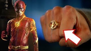 Barry's NEW Suit and Flash Ring Explained! - The Flash Season 5