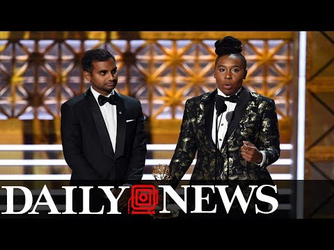 Lena Waithe breaks silence on Aziz Ansari allegations