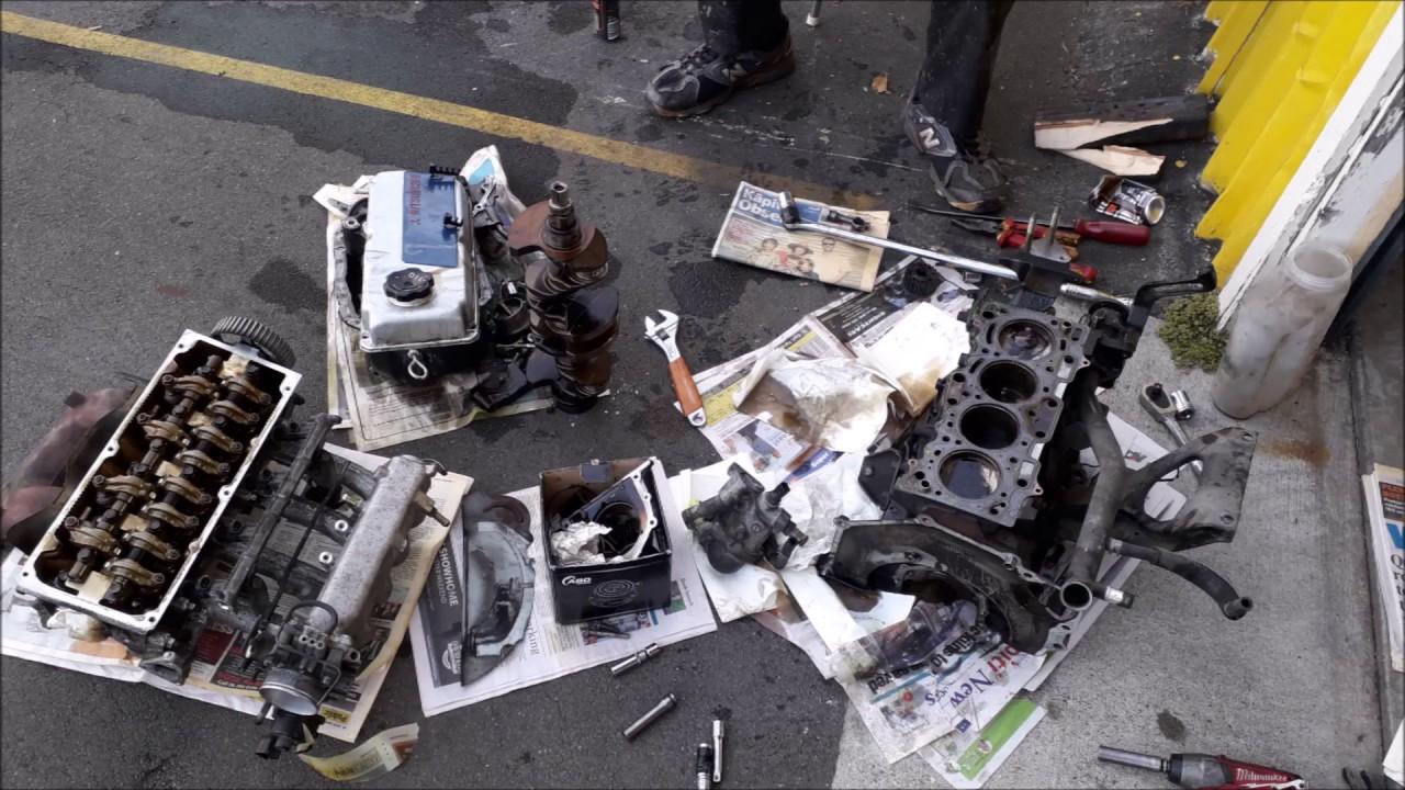 96-03 Lancer 4G13 - 4G15 DOHC engine swap 6