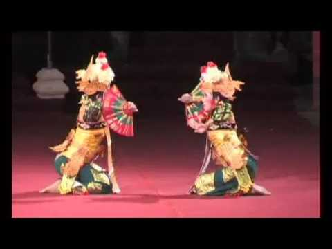 Legong Kuntul dance, Bali Art Festival 2011