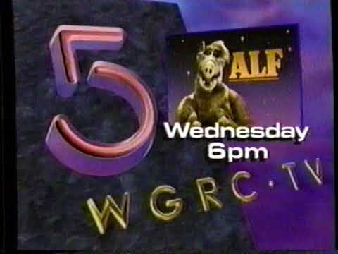 1989 WGRC Cable Channel 5 Rochester NY  Promos