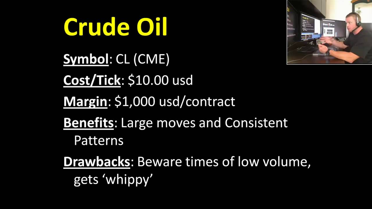 Crude Oil Futures Contract Specifications Tick Value Margin